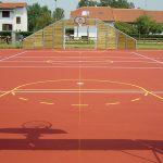 pavimentazione campo basket esterno