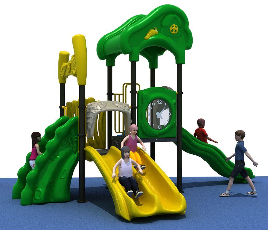 Struttura Gioco per Bambini a tema Natura - NATURE Castello 6045A