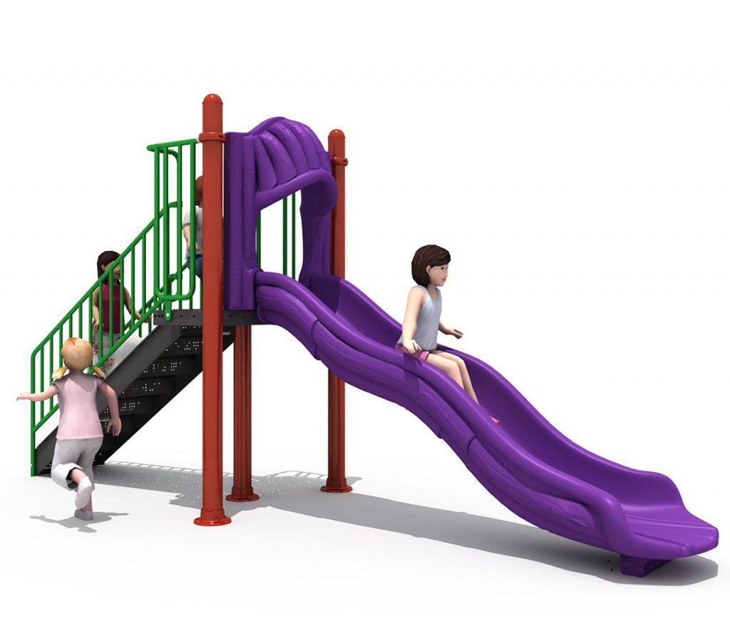 Altalene e Scivoli per Bambini - CITY Scivolo 4058B