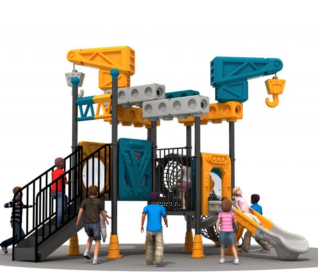 Giochi per Parchi a tema Costruzioni- CRANE TRUCK Castello 6004A
