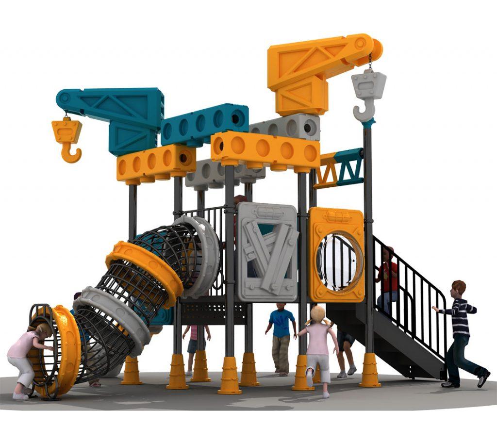scivolo moderno per parco giochi