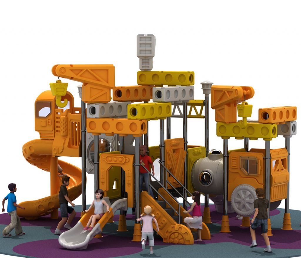 Giochi per Parchi a tema Costruzioni - CRANE TRUCK Castello 6005B