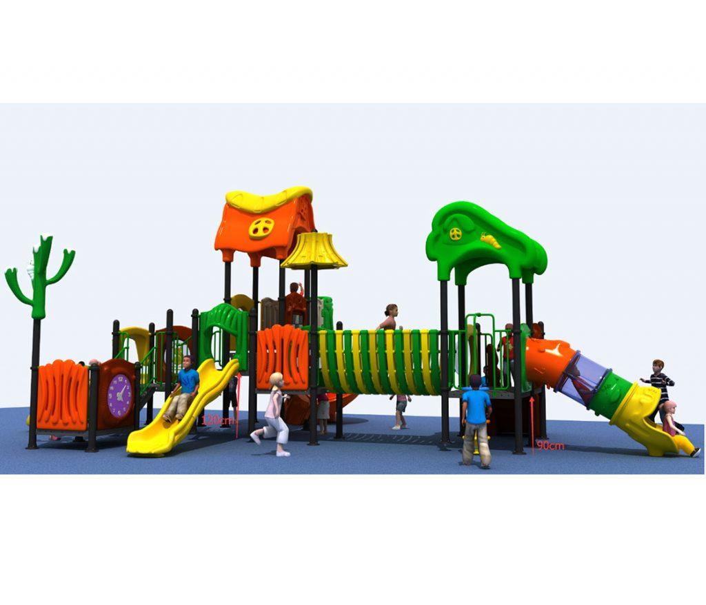 struttura gioco da esterno per bambini