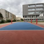 campo multisport outdoor in resina
