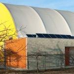 copertura in legno per impianti sportivi
