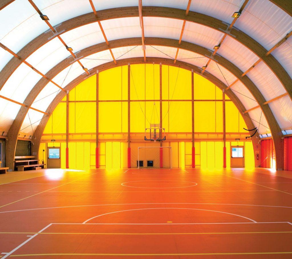pavimentazione campi indoor