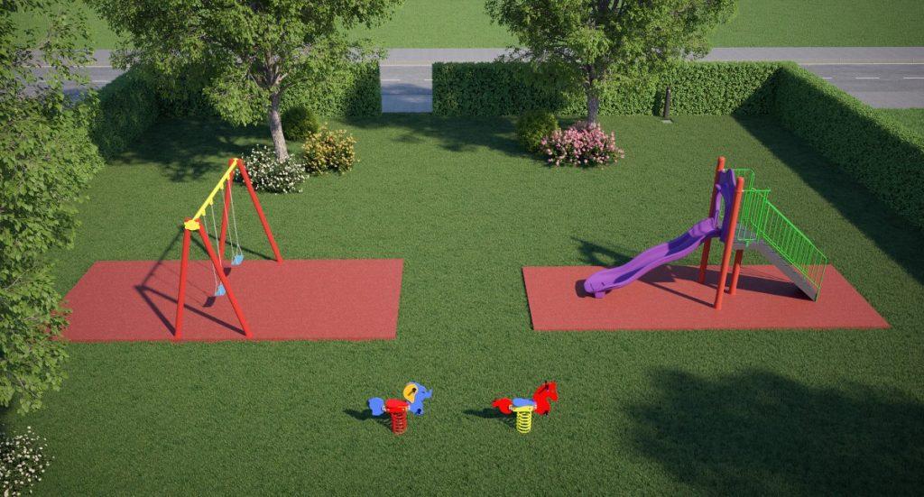 Progettazione Parco Giochi per Bambini - Area Bronze