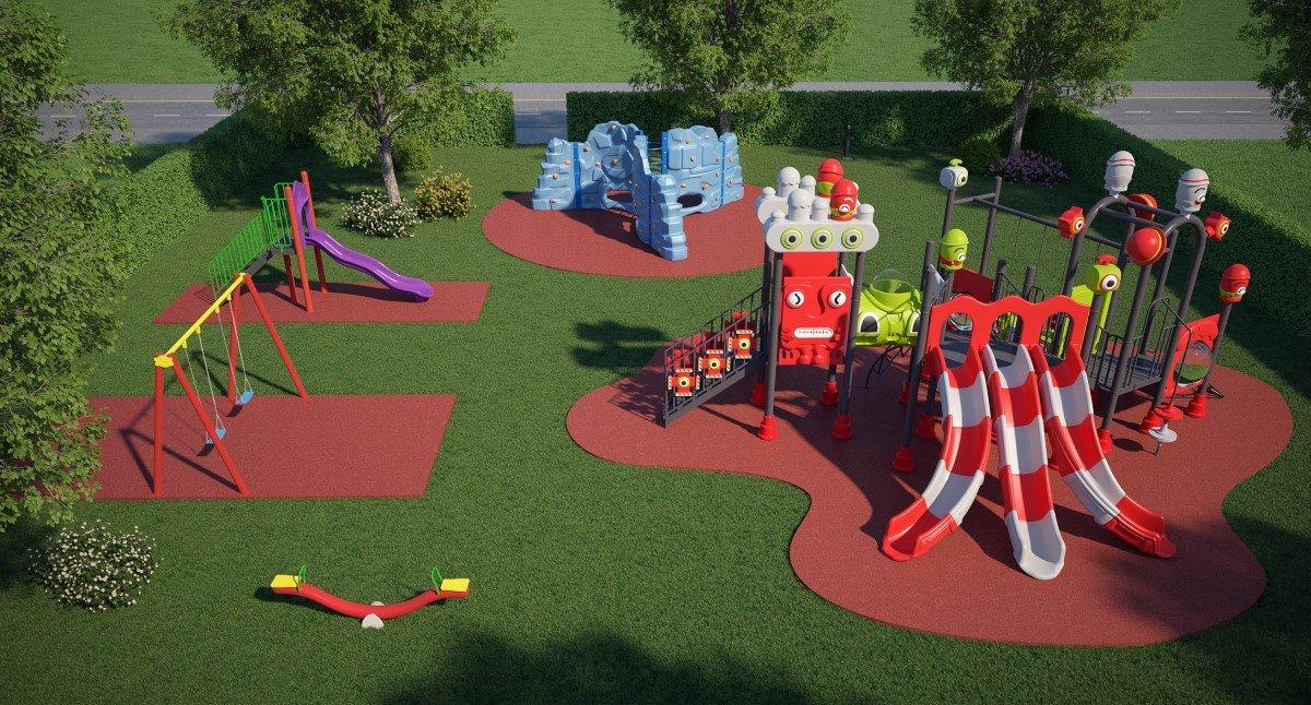 Progettazione Parco Giochi per Bambini - Area Gold