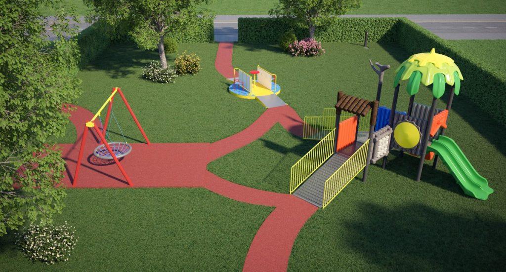 Progettazione Parco Giochi Inclusivi per Bambini Disabili
