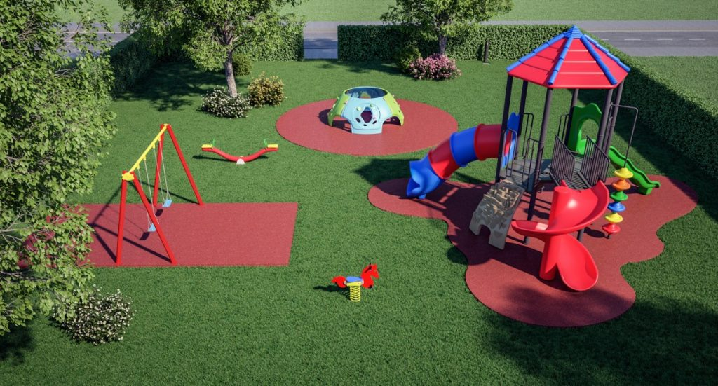 Progettazione Parco Giochi per Bambini - Area Silver