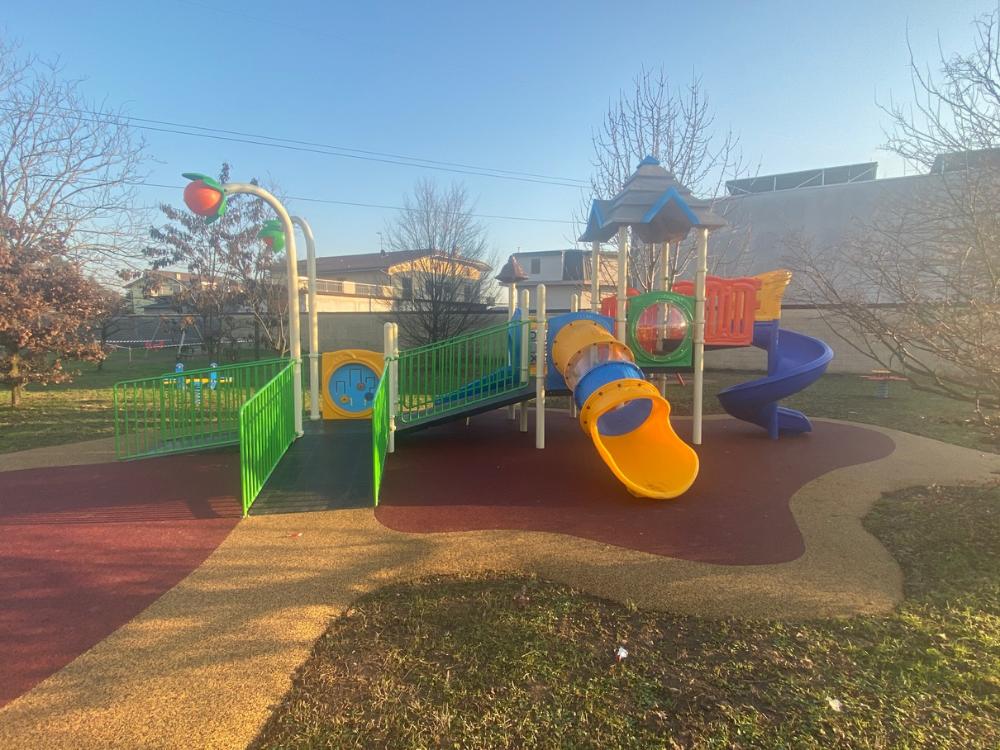 Giochi per parchi inclusivi Ciserano